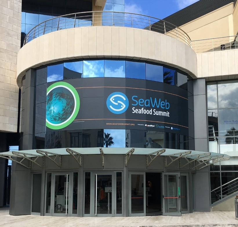 SeaWeb Seafood Summit Entrance